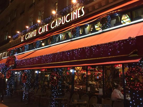 Outside cafe - Picture of Le Grand Cafe Capucines, Paris - TripAdvisor