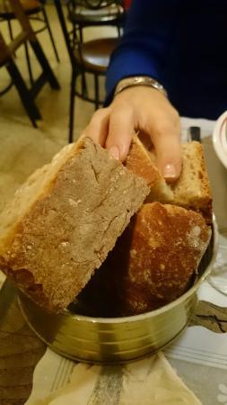 Deliciosa ración de pan