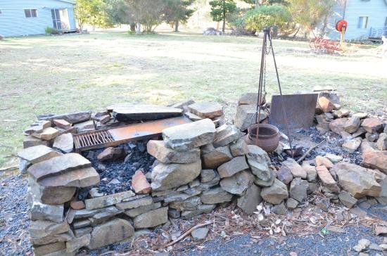 Heimat Chalets: outdoor fire