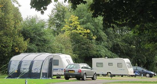 Cirencester Park Caravan Club Site