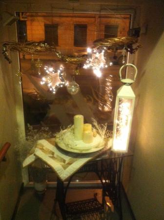 Schumli: Уютный новогодний декор в кафе на Казанской