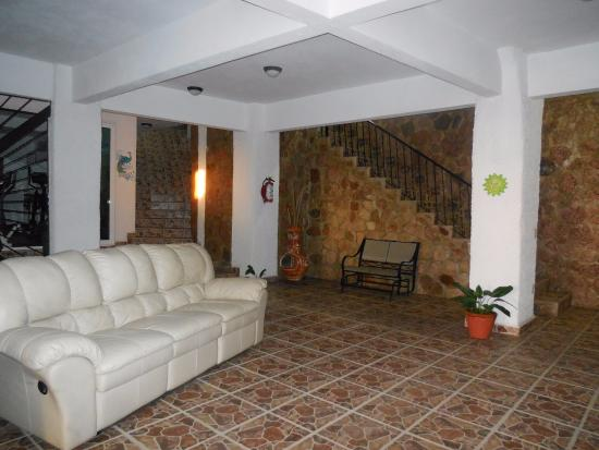 Villa Olivia: espace commun