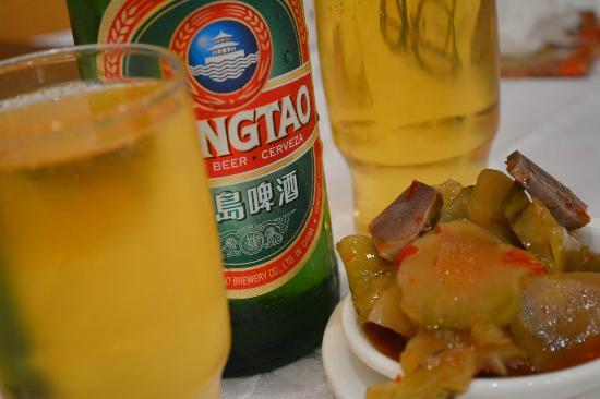 Tai Woo Seafood Restaurant : お通しのザーサイ。