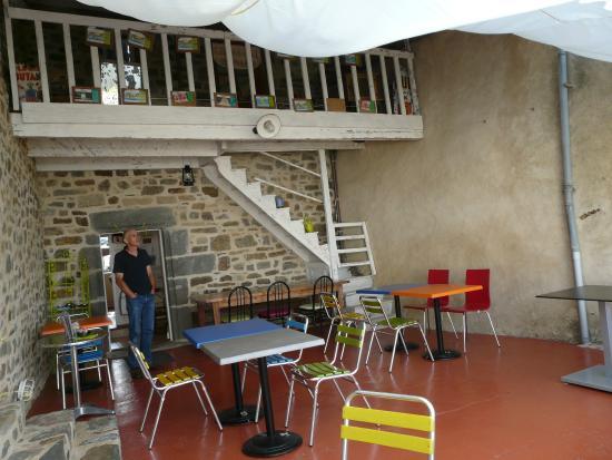 Goustadig : la terrasse