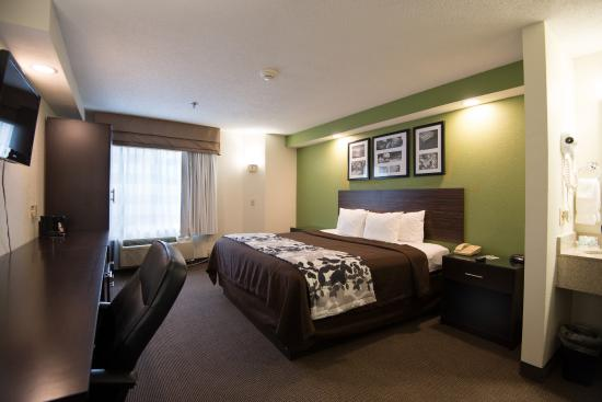 Sleep Inn - Memphis / Bartlett: King Room