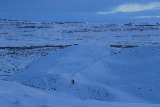 Bifrost, İzlanda: Tiefschnee