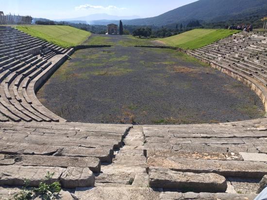 Ancient Messini - stadium - Picture of Ancient Messini ...