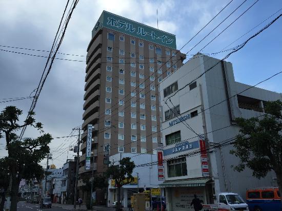 Hotel Route Inn Tokuyama Ekimae : ホテルル-トイン徳山駅前の外観です。