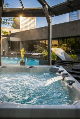 Hotel Bonaventure Montreal : Rooftop Pool and Jacuzzi