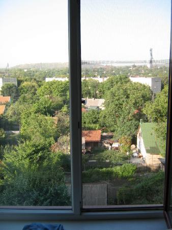 Optima Deluxe Kryvyi Rih: Вид из номера
