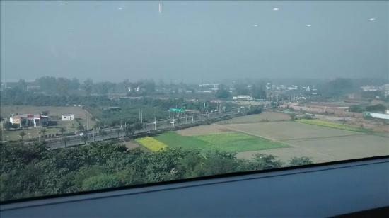 Radisson Blu Hotel Amritsar: View from our Room on the 9th floor