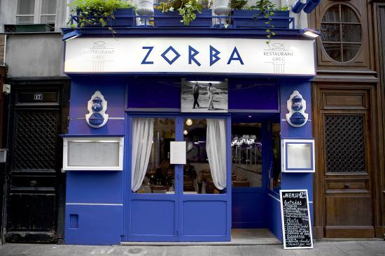 Zorba Restaurant Grec