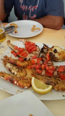 Portixeddu, Italia: grigliata