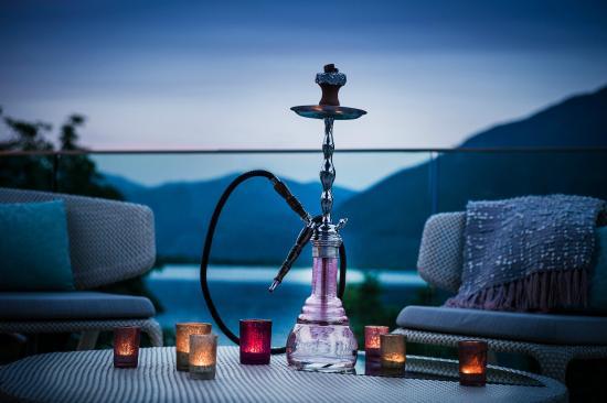 Minusio, Switzerland: Roof Lounge Shisha