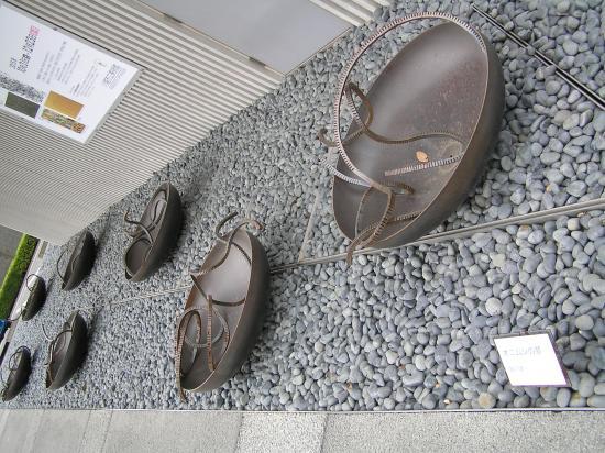 Kawagoe City Art Museum : これは爬虫類?