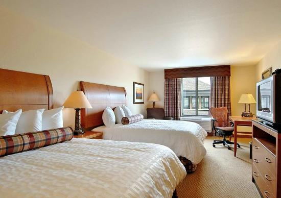 Hilton Garden Inn Missoula: Double Beds