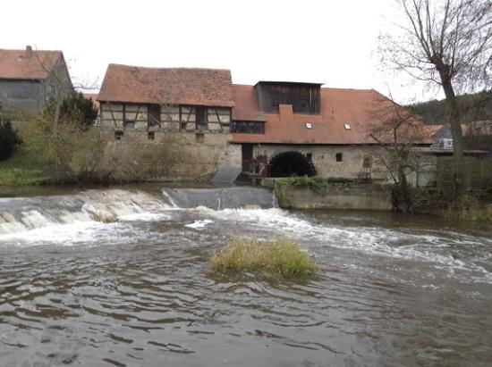 Buchfart, Allemagne : Wassermühle