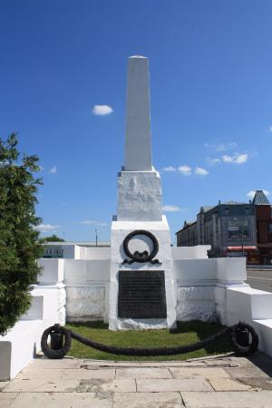 The Monument to the Fighters of the Revolution