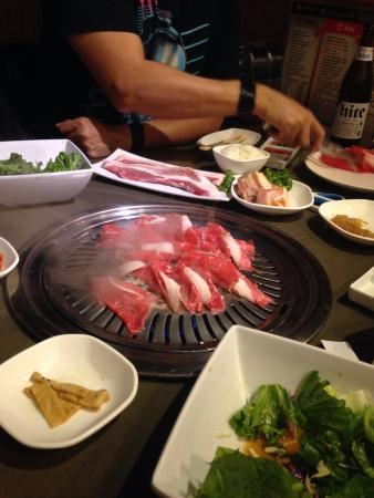 Chino, Kalifornien: Korena BBQ