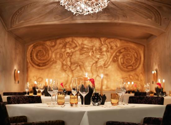 Restaurant Ecco St. Moritz - Chef Rolf Fliegauf