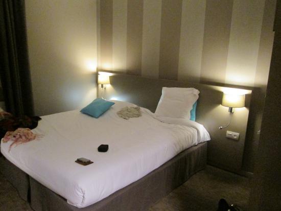 Hotel Le Galion : La chambre avec un lit de 180