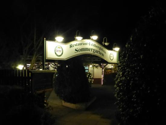 Restaurant Feldbergblick: Eingangsbereich