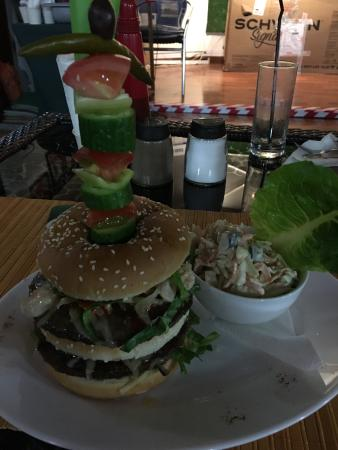 The Chasers Bar: Chasers Bar Double Burger
