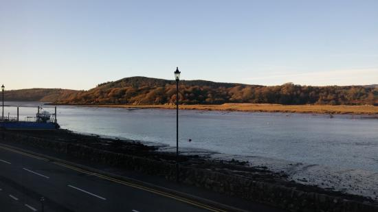 Kippford, UK: the view from the room