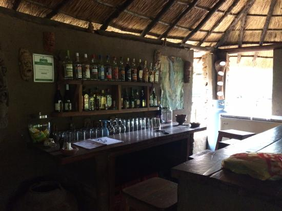 Liwonde Safari Camp : Bar area
