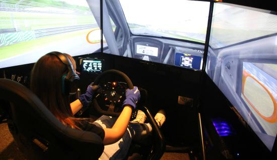 real racing controls touch screen dashboard and separate. Black Bedroom Furniture Sets. Home Design Ideas