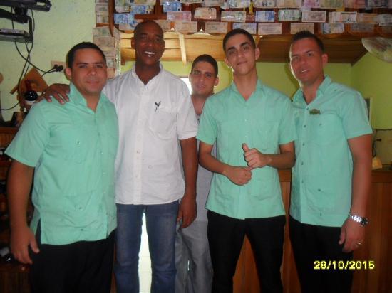 Santa Cruz del Norte, Kuba: Los amigos, que nos atendieron tan bien! Gracias!!!
