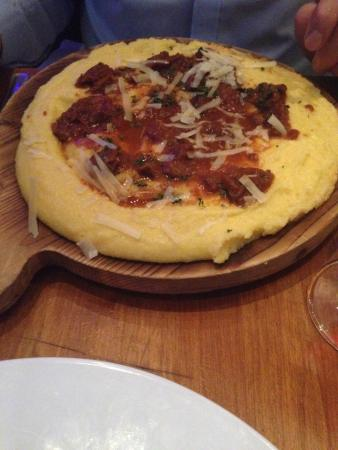 Osteria dell'Arte : The wild boar ragu with polenta