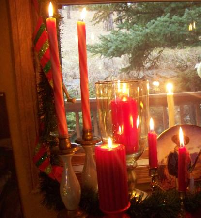 Elk Ridge Bed & Breakfast: Christmas time in the Black Hills