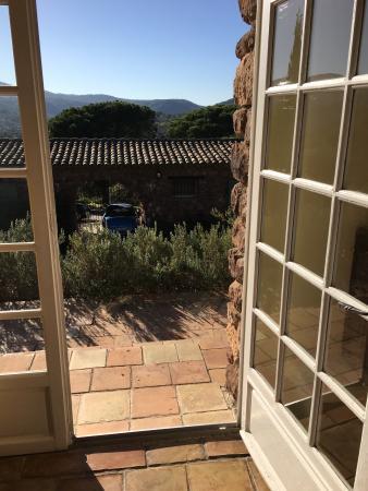 La Maurette Roquebrune: Blick aus meinem Zimmer