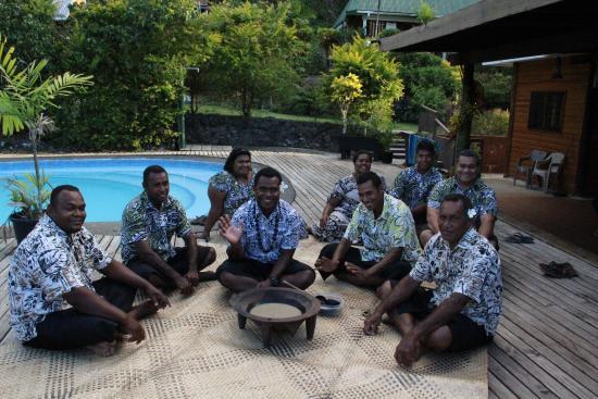 Daku Resort: Some of the wonderful Daku staff