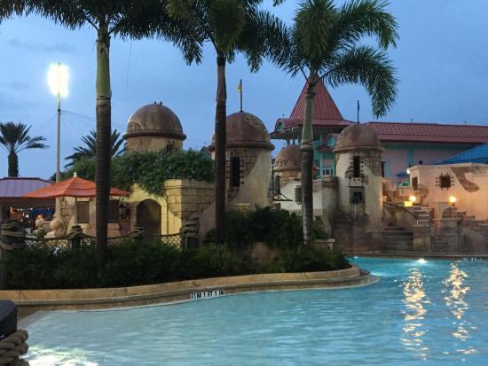 Disney Caribbean Beach Resort Heated Pool