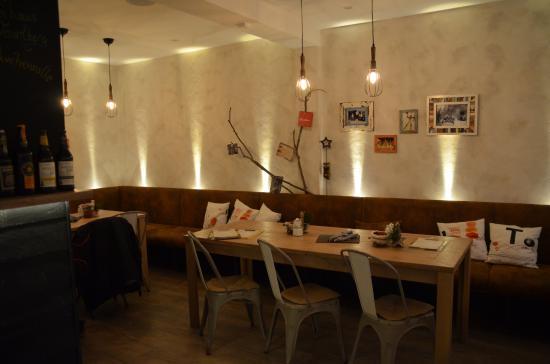 Im Restaurant Bild Von Cafe Heimatlon Steinbach Hallenberg