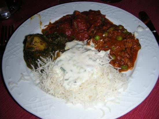 Indian Flavor: Saag Aloo, Lamb Phall, Keema Mutter Curry, our favorite ...