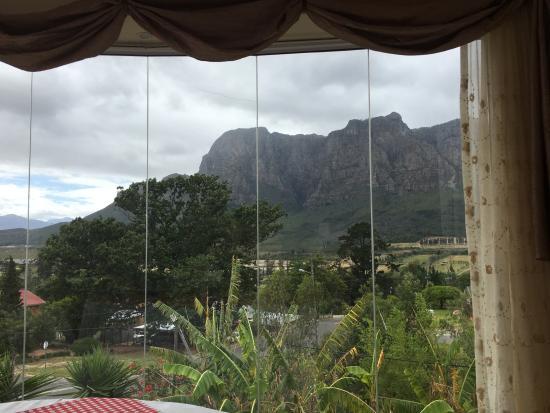 Pniel, Südafrika: breakfast with a view