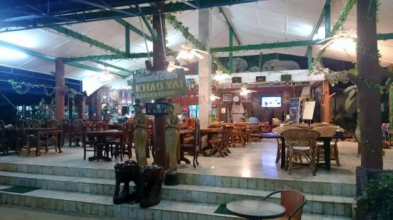Khao Yai Garden Lodge : Restaurant du lodge