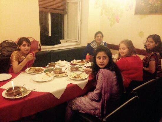 Indian Restaurant Everest Party In Prague With Best Friend