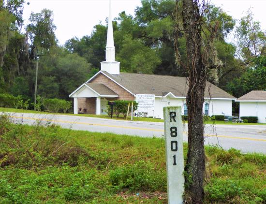 Ridge Manor, FL: Railroad workers needed Jesus too