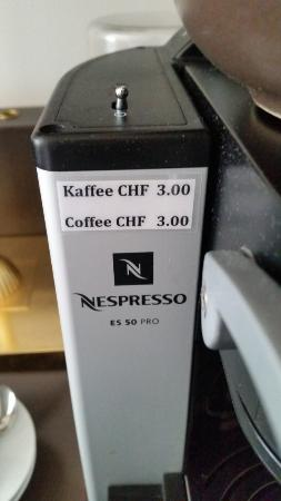 Hotel First: Coffee-making facilities