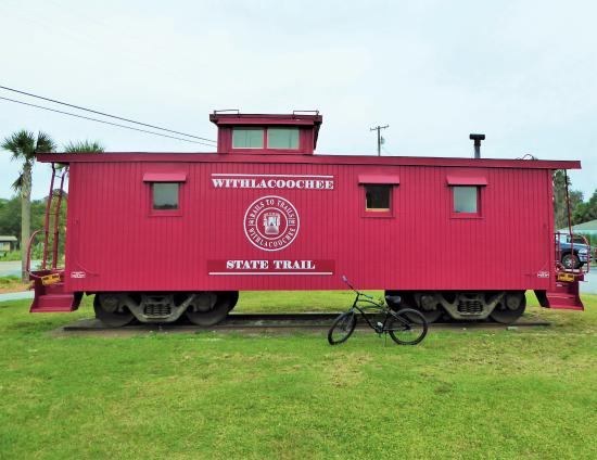 Inverness caboose