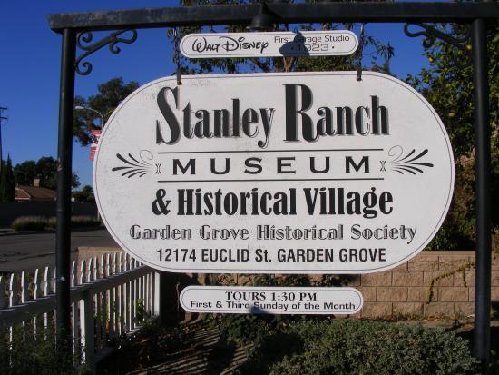 1923 Disney Garage Picture Of Stanley Ranch Museum Historical Village Garden Grove