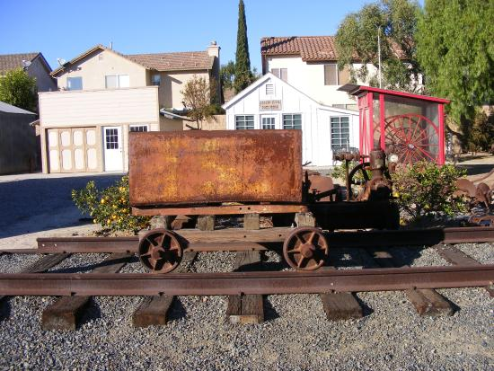 Garden Grove, CA: An ore car