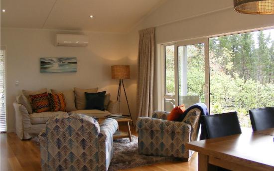 Treghan Luxury Lodge: Birdsong Retreat Livingroom