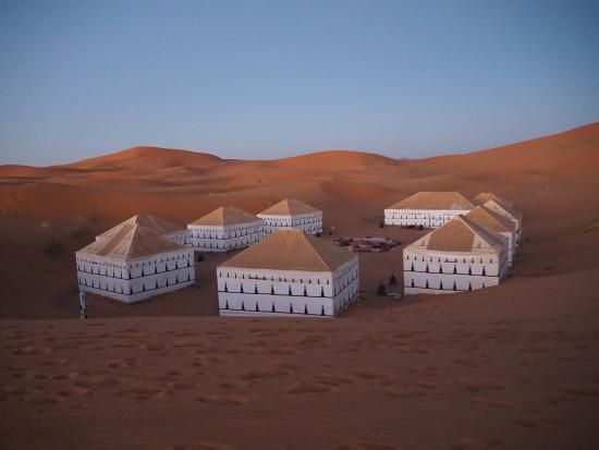 Palais des dunes: ラグジュアリーテント