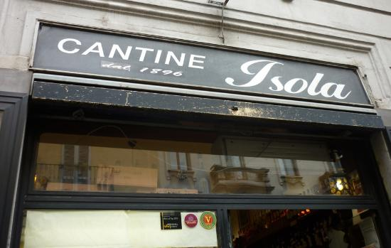 Cantine Isola: cartel