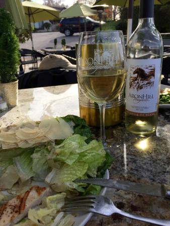 AronHill Vineyards: Grilled chicken caesar with charred romaine
